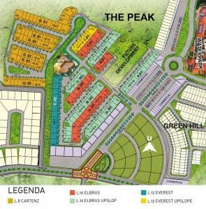 Siteplan The Peak