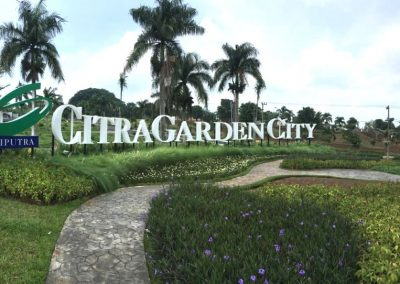 Citra Garden City Malang Gate