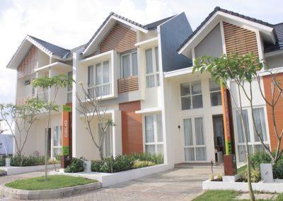 Citra Garden City Malang, rumah contoh GreenHill cluster