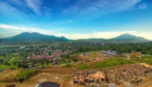 citra garden city malang view