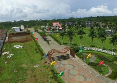Iconic Gate Citra Garden City Malang