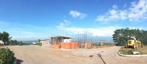 pembangunan gate cluster the Peak