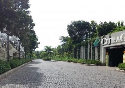 Pintu masuk Citra Garden City Malang
