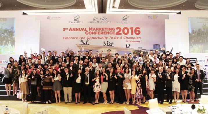 3rd Annual Marketing Conference 2016 PT. Ciputra Residence