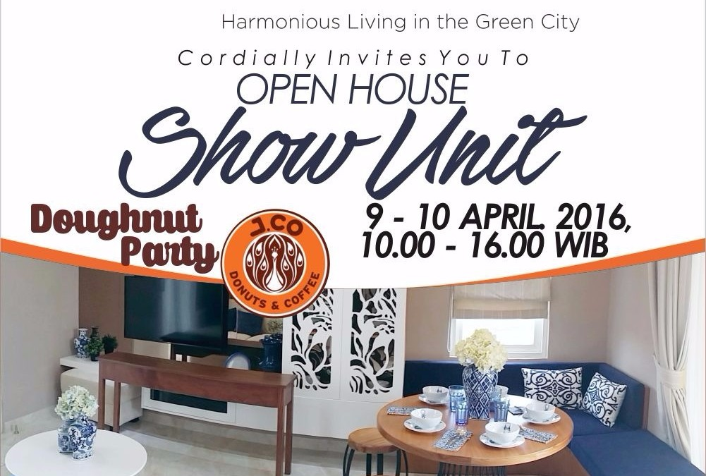 Open House Show Unit GreenHill, Doughnut Party 9-10 April 2016
