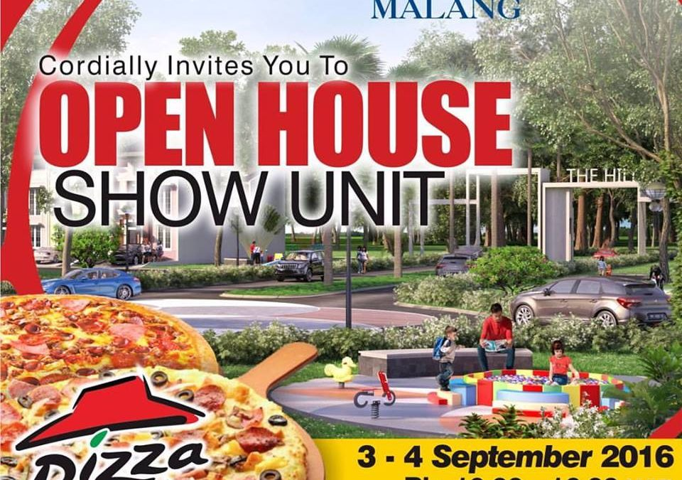 Open House Show Unit GreenHill, Pizza Hut Party 3-4 September 2016
