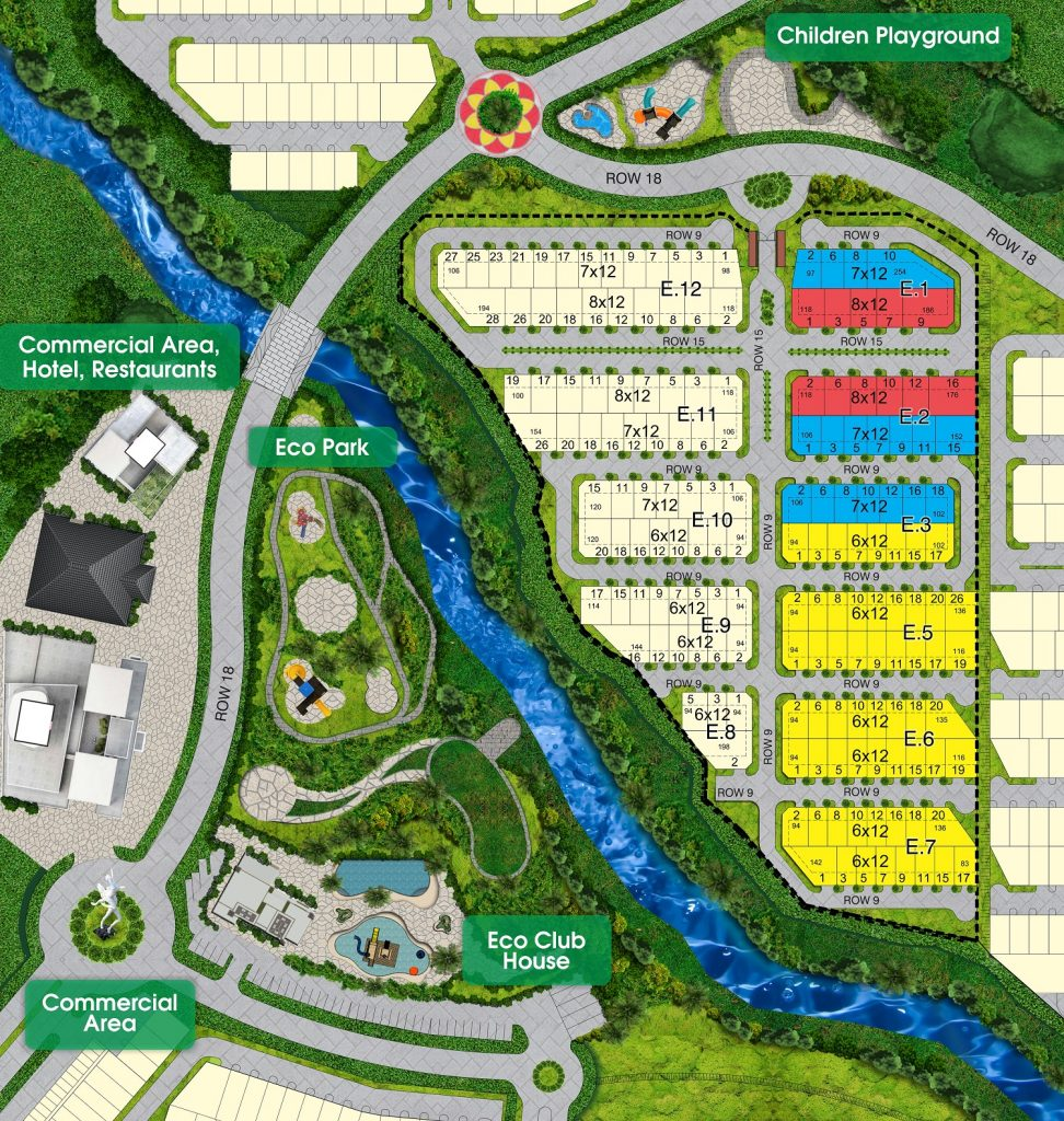 siteplan TheValley