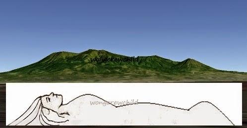 gunung putri tidur